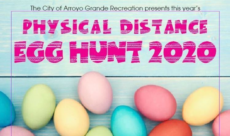 Physical Distance Egg Hunt